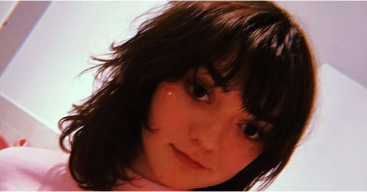 Maisie Williams Got Bangs, So Now We Know Game of Thrones Is Really Over