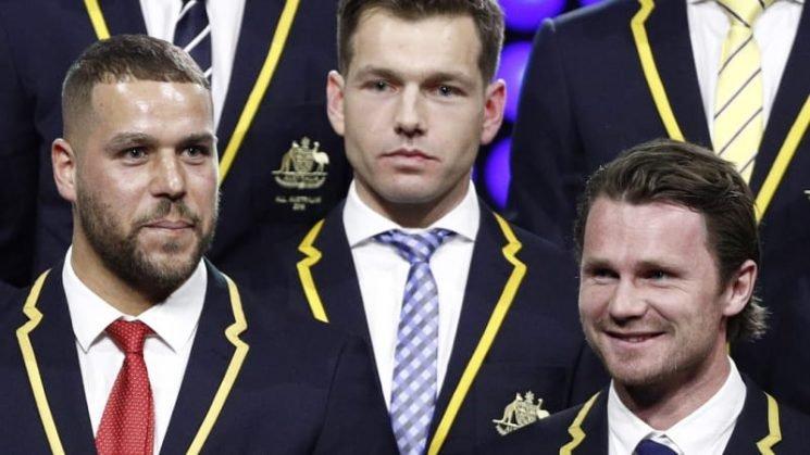 Lance Franklin captain of the AFL's best of 2018