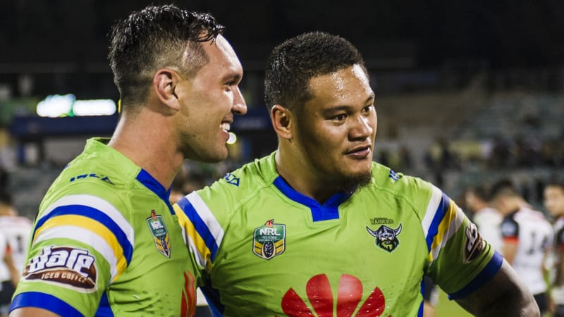 Canberra's 'Leipana' has terrorised the Tigers