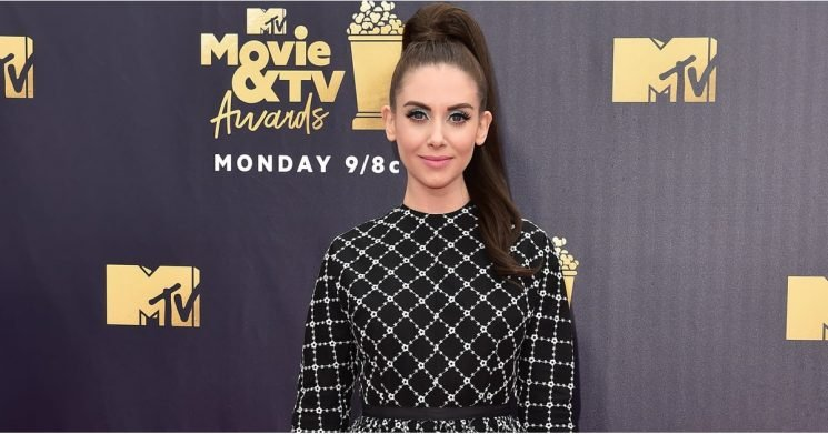 Alison Brie's Red Carpet Evolution Will Make You Glow Green With Envy