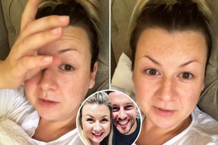 Chris Ramsey's wife Rosie breaks down in tears as she thanks fans for support after revealing miscarriage
