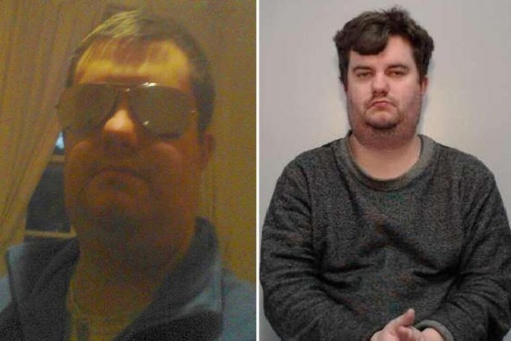 Vile perv was caught by paedo hunters in hotel room where he thought he was meeting 15-year-old girl he'd groomed online