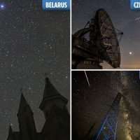 Perseid meteor shower lights up the sky around the world with incredible shooting star spectacular