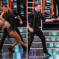 Karen Clifton puts on a united front with estranged husband Kevin as they dance together at Strictly launch