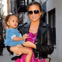 Chrissy Teigen's Daughter Luna Is Every 2-Year-Old in Family Photo