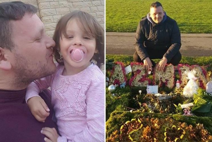 Heartbroken dad, 31, found dead less than a year after tragic meningitis death of two-year-old daughter