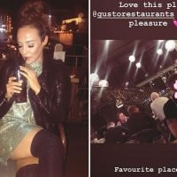 Stephanie Davis hints at new romance as she enjoys Italian meal with mystery man