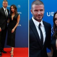 Victoria and David Beckham make rare red carpet appearance together in Monaco