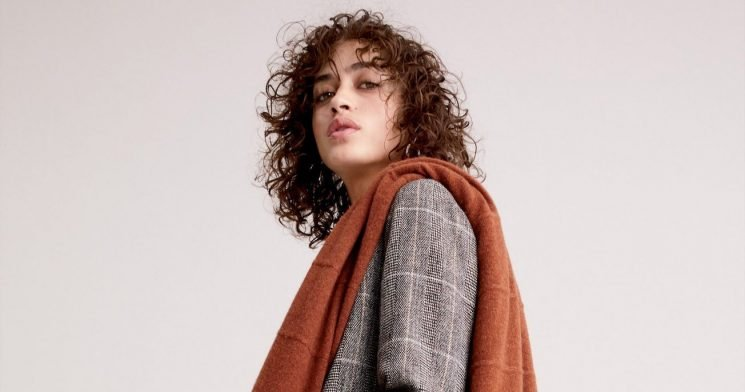 This Cashmere Wrap is the Only Knit You Need For Fall