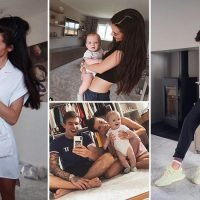 Inside Gaz Beadle and Emma McVey's first family home with incredible light fixtures, cute baby portraits and huge dressing room