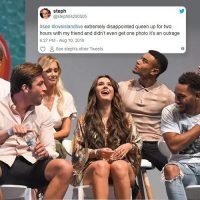 Love Island fans furious after 'chaotic' meet and greet event where they claim they queued for hours without a single star selfie