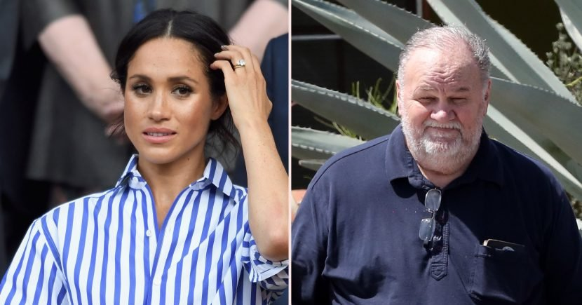 Duchess Meghan's Dad Says She Told Him He Couldn't Make Speech at Her Wedding