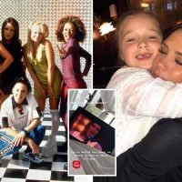 Victoria Beckham introduces daughter Harper to her classic film Spice World