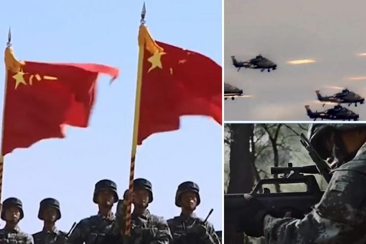 China releases chilling army propaganda video warning the world of a massive new global conflict