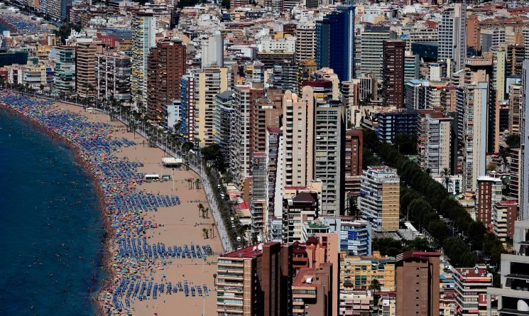 Number of Brits holidaying in Benidorm is in 'freefall' – and the resort has had its worst August in years