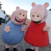 Angry dad attacks adventure park worker after Peppa Pig character George Pig 'knocks child over'