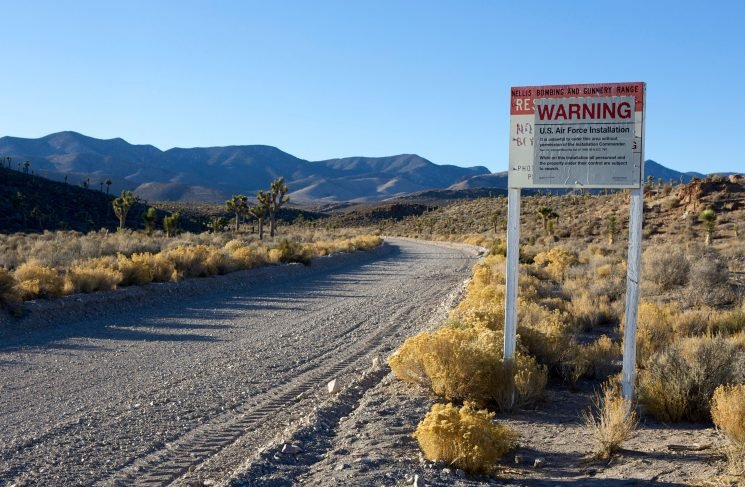 Want to work at Area 51? Now you can as world's most mysterious military base posts its first ever job advert…. but there's a bit of a catch
