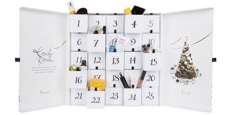 Harrods unveils beauty advent calendar containing 25 luxury treats (but it'll set you back £250)