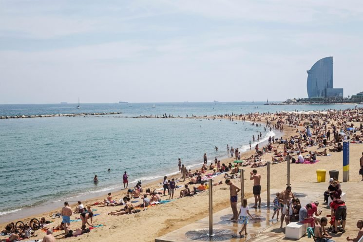 Barcelona cracking down on bad behaviour from wild tourists who pee in public – and 'leave DRUGS in children's playgrounds'