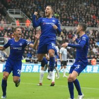 Eden Hazard up to third on Chelsea's Premier League top scorers list after scoring penalty against Newcastle
