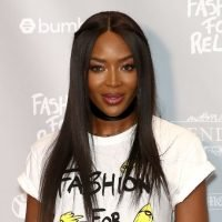 Naomi Campbell Wows In A Skimpy White String Bikini On A Yacht