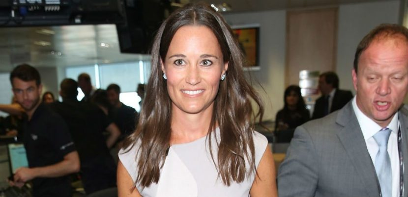 Pippa Middleton Sports Fitness Gear As She Heads To Workout Class