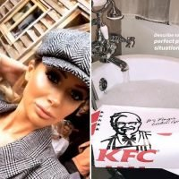 Olivia Attwood eats KFC in the bath to relax as she reveals behind the scenes snaps from Celebs Go Dating