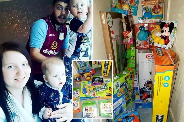 Mum buys all 40 Christmas presents for her kids – NINE months early