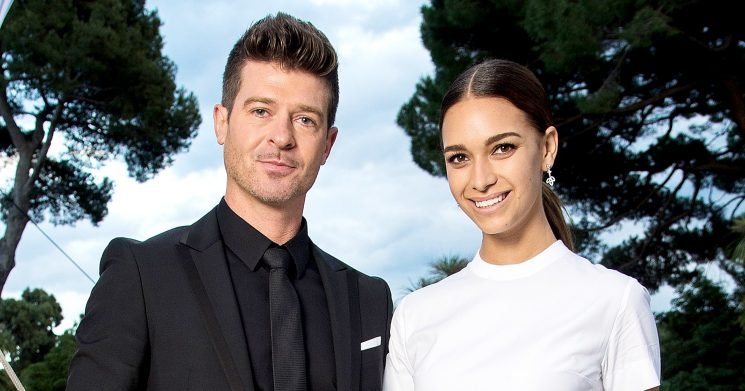 Robin Thicke, GF April Love Geary Reveal the Sex of Baby No. 2
