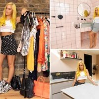 Louis Vuitton boots, Gucci bags and a bright pink bathroom: Inside Lottie Tomlinson's plush pad