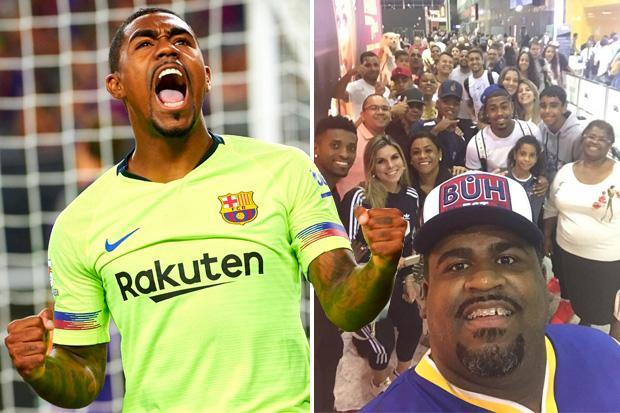 Barcelona new-boy Malcom reveals his nan sold her frying pans to fund his training as a youngster