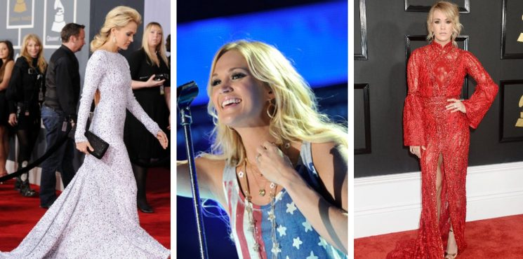 20 Outfits Carrie Underwood Wore That Still Amaze Us