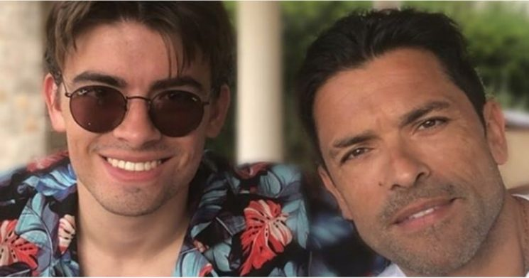 """Mark Consuelos Congratulates His """"Younger and Handsomer"""" Son on His Riverdale Role"""
