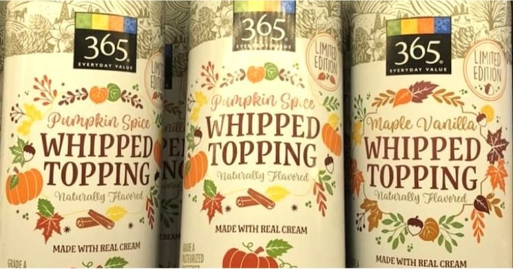 We're Delighted to Inform You That Whole Foods Now Sells Pumpkin Spice Whipped Cream
