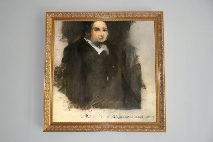 Painting created by AI expected to sell for $10K at auction