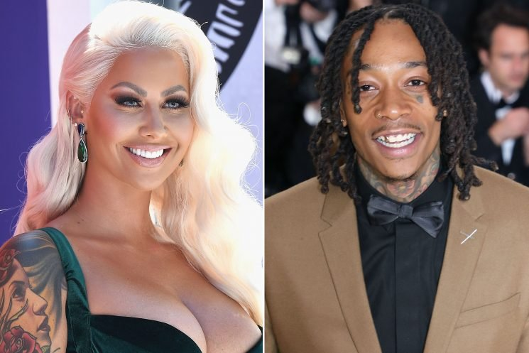 Amber Rose and Wiz Khalifa don't hook up for sake of son