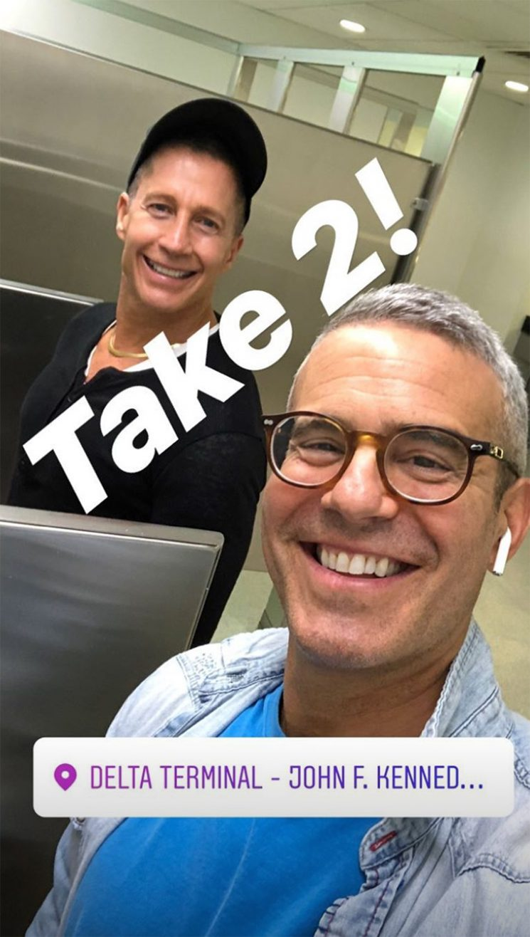 Andy Cohen's Flight to France Turns Around After Passenger Breaks Toilet: 'We Were 2 Hours Outside of Europe'