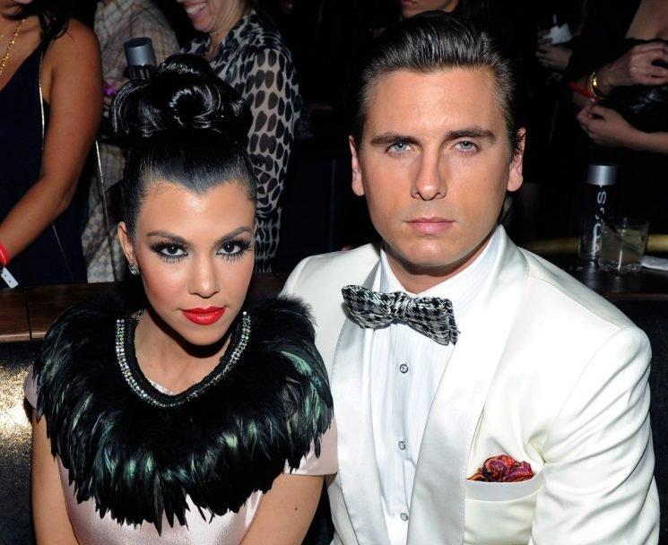 Kourtney Kardashian & Scott Disick's Body Language At Kylie's Birthday Party Isn't What Fans Hoped