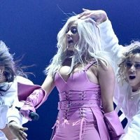 Bebe Rexha's Hair Goes Haywire With Malfunction During TCA Performance