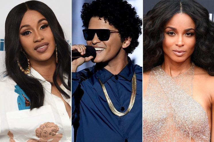 Bruno Mars replaces Cardi B with Ciara for 24K Magic tour