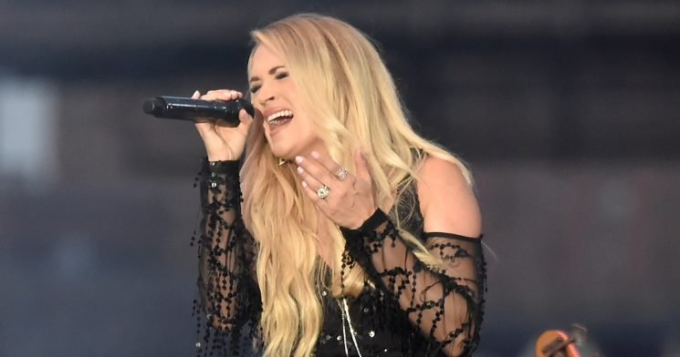 Carrie Underwood Debuts Her Baby Bump at the Grand Ole Opry: Pic