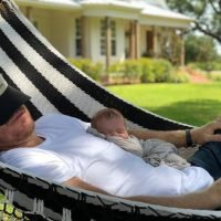 Lazy Summer Days! Chip Gaines and Son Crew Are an Adorable Duo in a Hammock – See the Pic