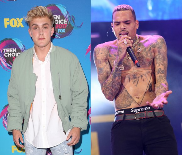 Jake Paul Won His YouTube Boxing Match Today — And Now, He Wants To Fight Chris Brown! Wait, WTF?!