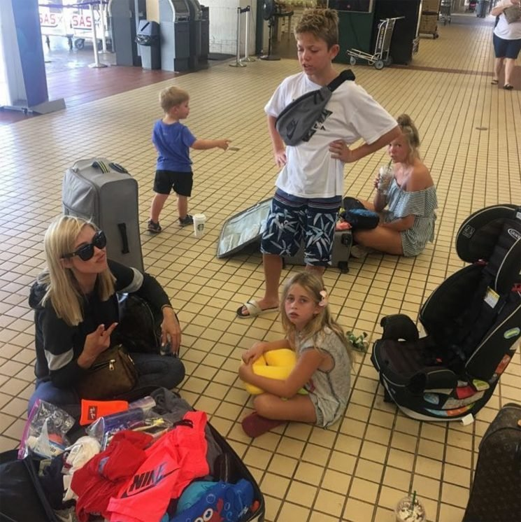 Christina El Moussa Stuck in Hawaii Ahead of Hurricane Lane: 'Maui Wasn't Ready for Us to Leave'