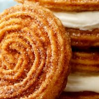 New Dessert Alert! Cinnabon and Carvel Are Making Churro Ice Cream Sandwiches