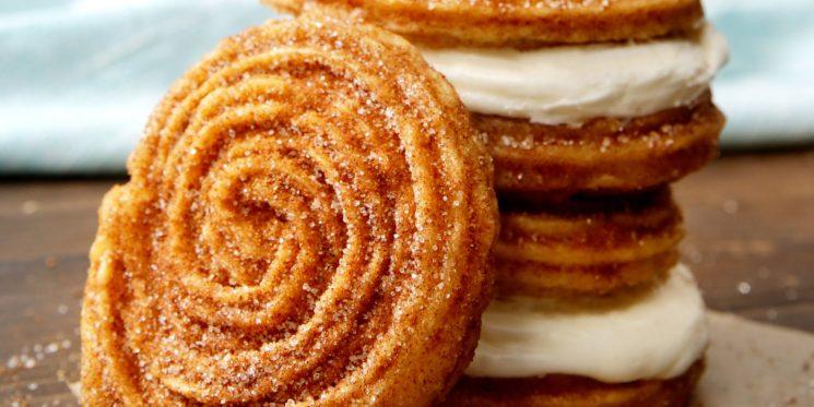 New Dessert Alert! Cinnabon and Carvel Are Making Churro Ice Cream Sandwiches