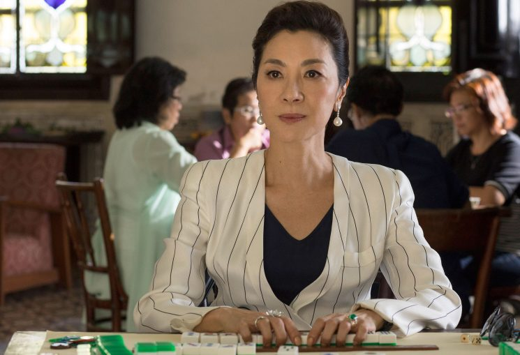 The Stunning Emerald Engagement Ring in Crazy Rich AsiansIs From Michelle Yeoh's Personal Jewelry Collection