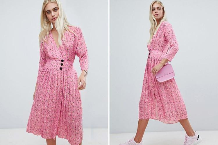 ASOS has just released the midi dress that sold out within days – and it's got a playful new twist