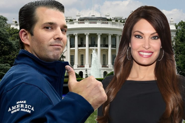 Do Kimberly Guilfoyle and 'Junior Mint' have their sights on the White House?