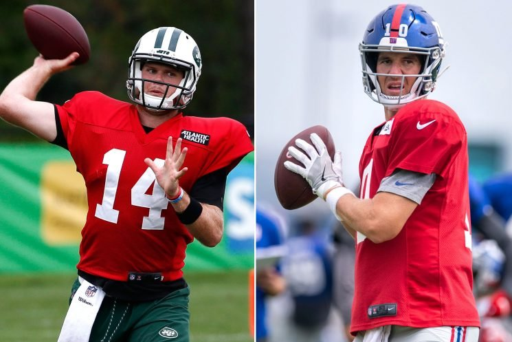 Jets would sign up for Sam Darnold producing an Eli Manning-like career